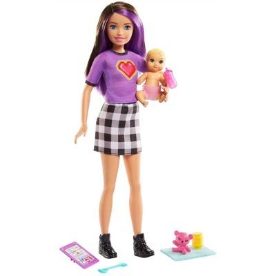 Barbie Skipper Babysitters Inc. -  Brown/Purple Hair