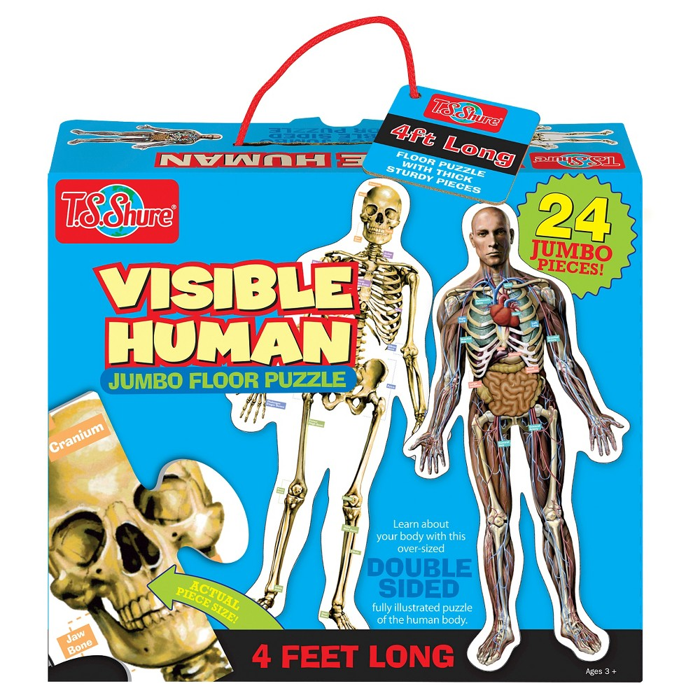 Visible Human 24pc Floor Puzzle