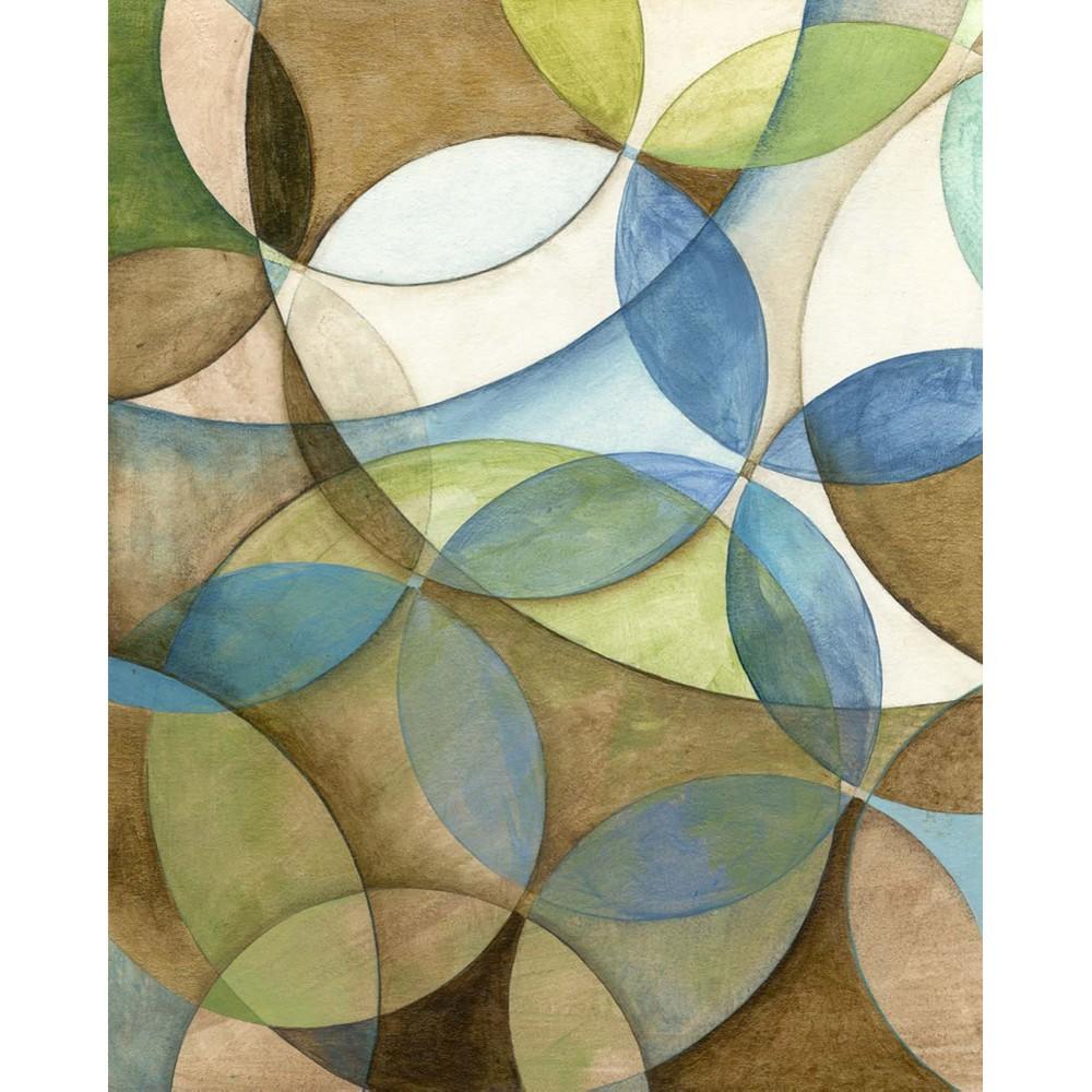 Circulate I Art Print (20x24), Multi-Colored