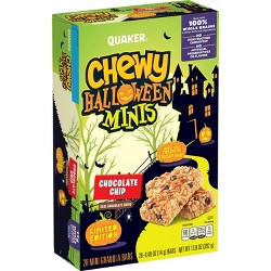 Quaker Halloween Chewy Chocolate Chip Mini's - 28ct