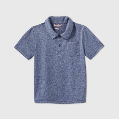 Toddler Boys' Polo T-Shirt - Cat & Jack™ Navy 18M