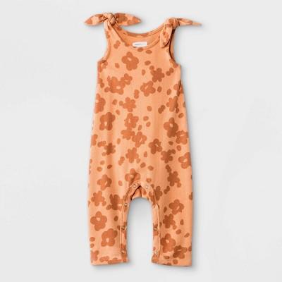 Grayson Mini Baby Girls' Floral Romper - Pink 6-9M