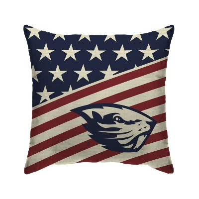 NCAA Oregon State Beavers Americana Decorative Throw Pillow