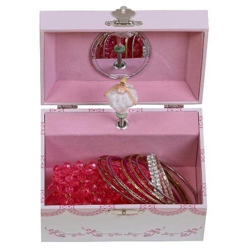e0bd20ad8bc6 Mele & Co. Clarice Girls' Musical Ballerina Jewelry Box-White