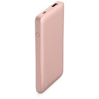 Belkin 5K mAh Pocket Power Portable Power Bank - Rose Gold