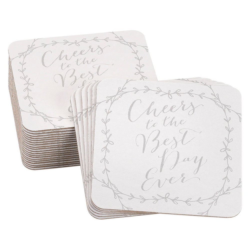 Image of 25ct Rustic Vines Coasters
