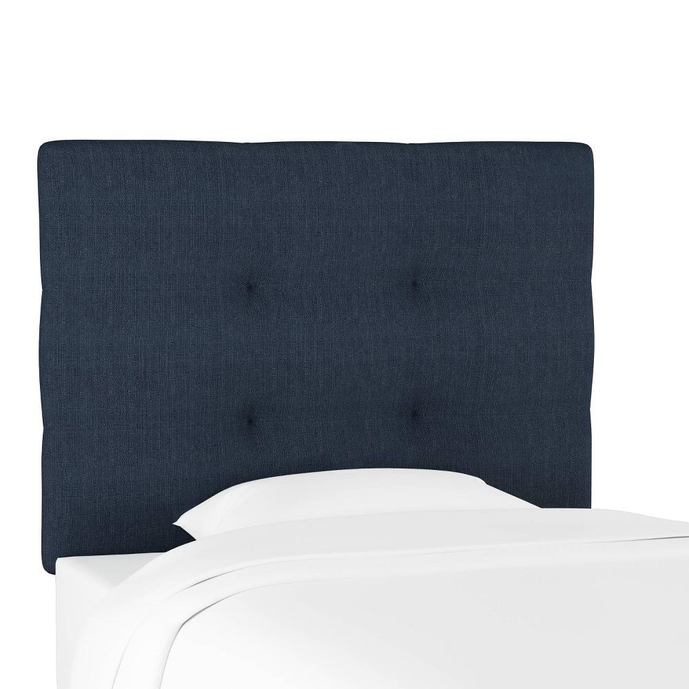 Reviews Kids'  Sawyer Upholstered Headboard Blue - Pillowfort™