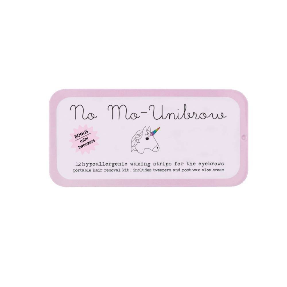 Image of No Mo-Stache Unibrow Waxing Kit - 12ct