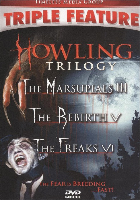 Howling trilogy (DVD) - image 1 of 1