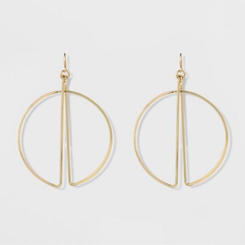 Women S Natasha Accessories Gold Plated Geometric Earring 3