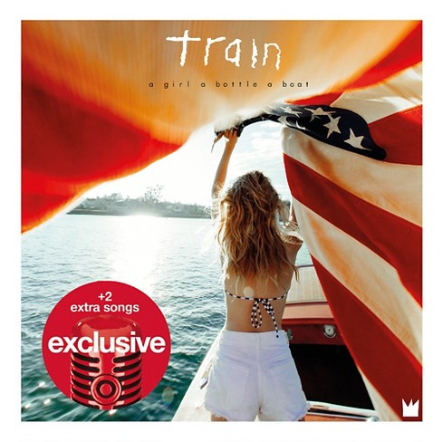 Train - a girl, a bottle, a boat (Target Exclusive) - image 1 of 1