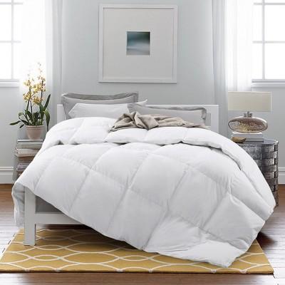 Puredown All Season White Goose Down Fiber Gusseted comforter