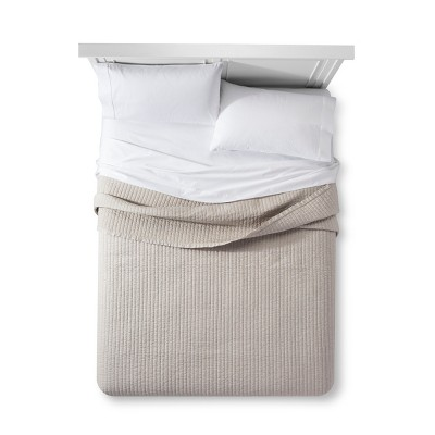 Pebble Cotton Cashmere Quilt (King)- Fieldcrest®