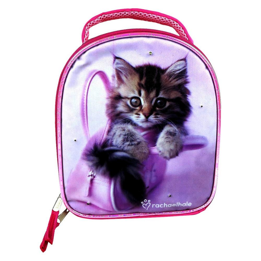License Rachael Hale Lunch Bag with Super Lights - Pink, Blue/Pink