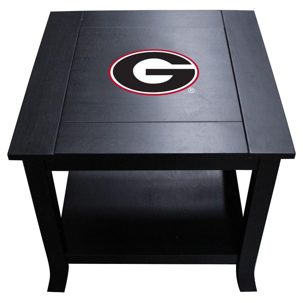 NCAA Imperial Side Table Georgia Bulldogs