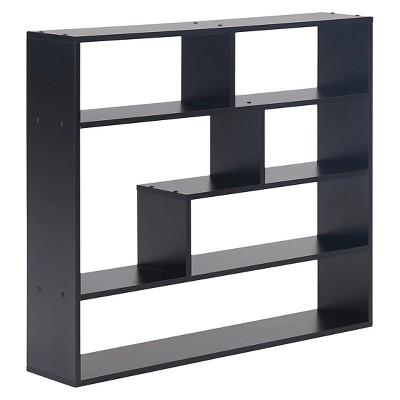 37  x 31.5  Rectangular Shelf Unit Black - Danya B.