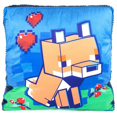 Minecraft Fox Floor Cushion