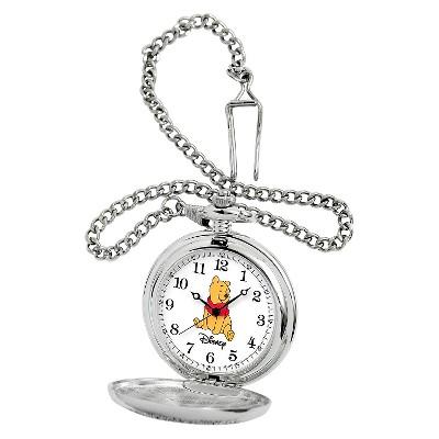 Men's Disney Winnie the Pooh Pocket Watch - Silver