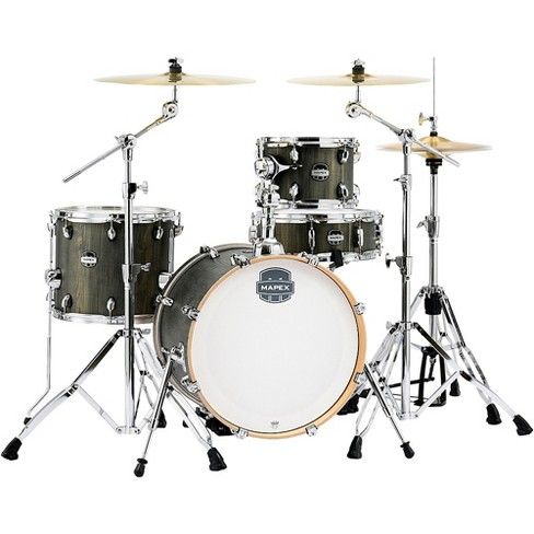"""Mapex Mapex Mars Series 4-Piece Bop Shell Pack with 18"""" Bass Drum Dragonwood Chrome - image 1 of 3"""