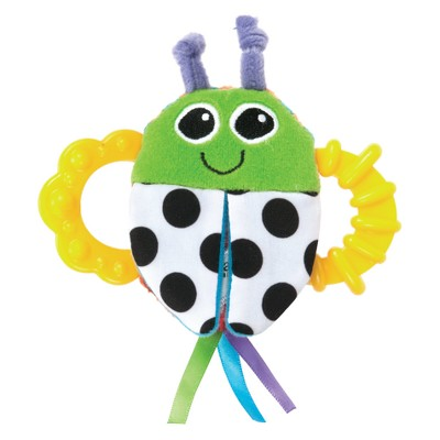 Lamaze Teether Bitty Bite Bug Rattle