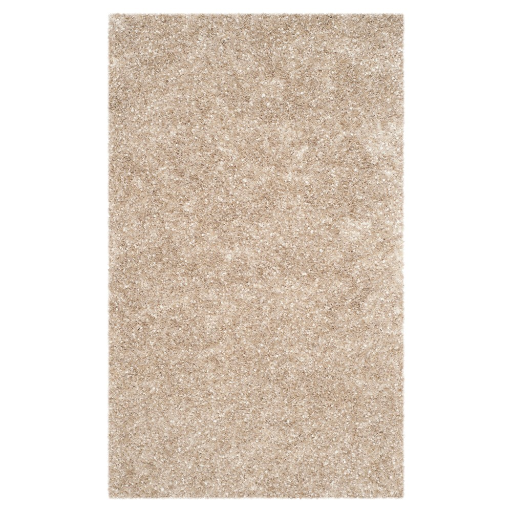 Natural Solid Tufted Accent Rug 3 39 X5 39 Safavieh
