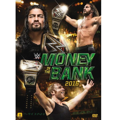 Wwe:Money In The Bank 2016 (DVD) - image 1 of 1
