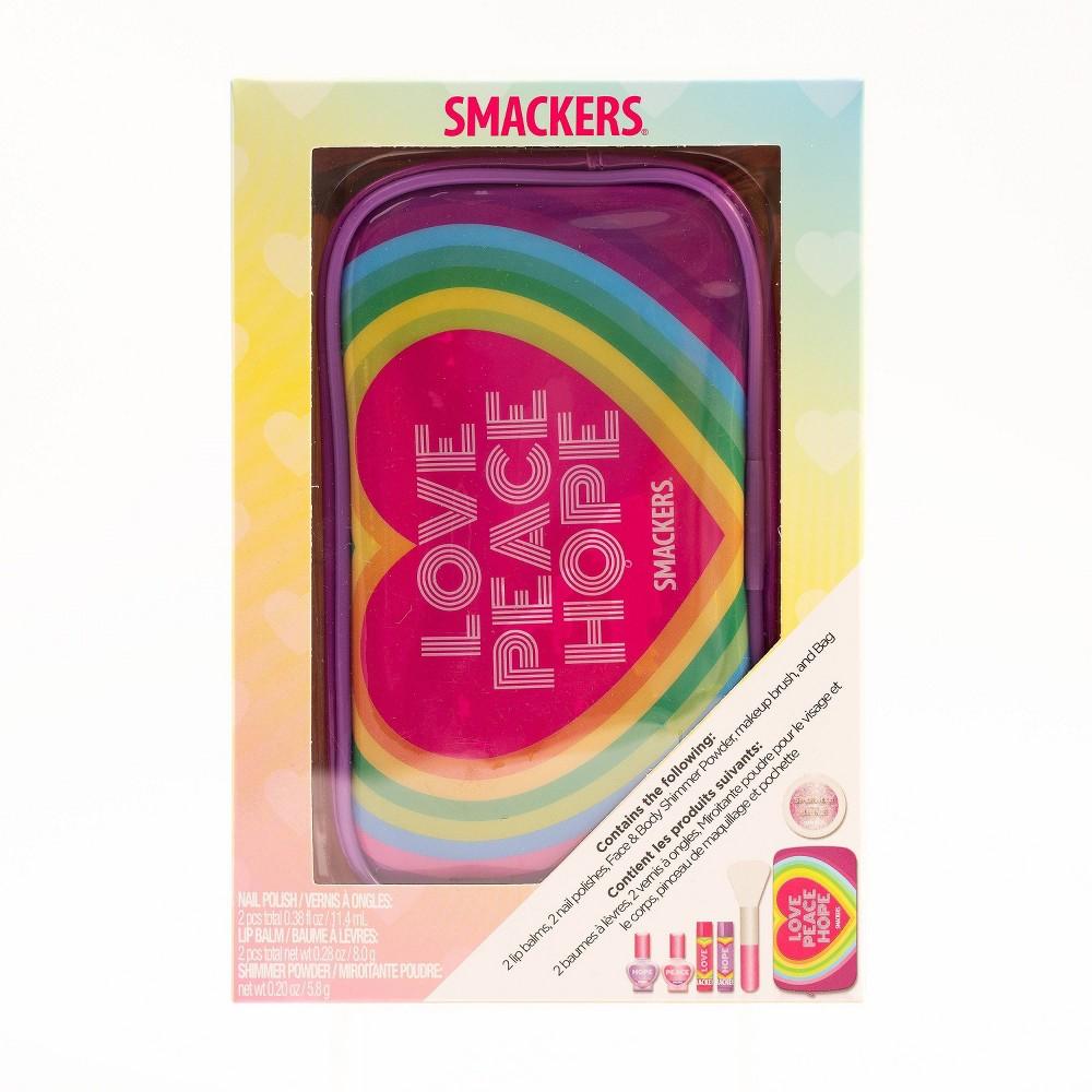 Image of Lip Smacker Best of Gift Set - Love Peace Hope - 0.38 fl oz