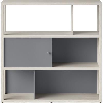 49.8  Siebert 3 Shelf Horizontal Bookcase White - Project 62™