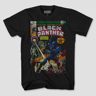 Men's Marvel Short Sleeve Second Panther T-Shirt - Black XL