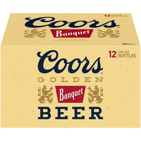 Coors Banquet Beer - 12pk/12 fl oz Bottles - image 1 of 3