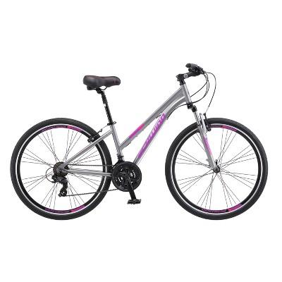 "Schwinn 700c/28"" Hybrid Bike Women's Trailway - Gray"