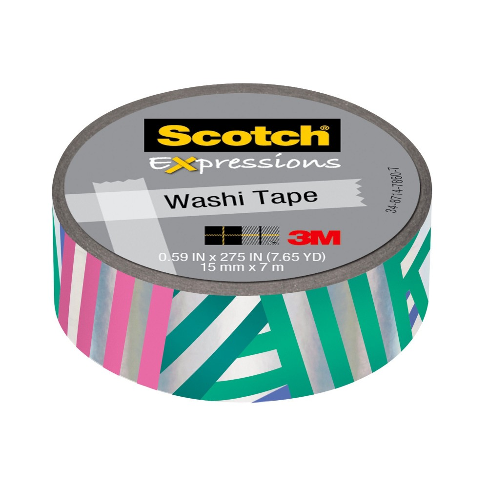 Scotch Expressions Glitter Tape, 5.4yd - Purple