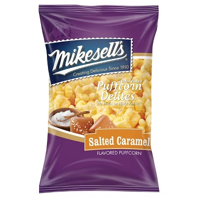 Mikesell's Salted Caramel Flavored Puffcorn Delites - 5.5oz