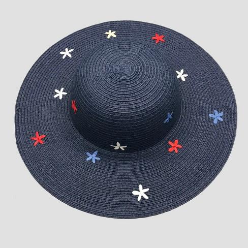 be32ab11335 Baby Girls  Star Floppy Hat - Cat   Jack™ Navy 12-24M   Target