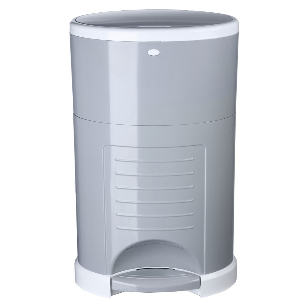 Image of Dekor Classic Hands Free Diaper Pail - Gray