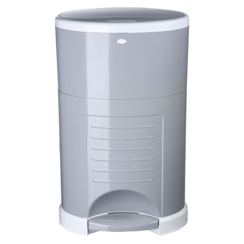 Dekor Classic Hands Free Diaper Pail - Gray - image 1 of 5