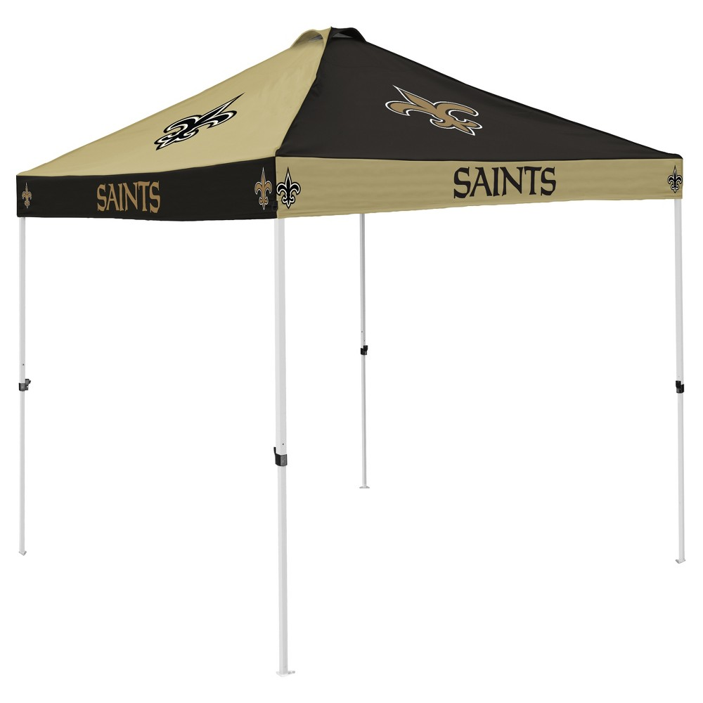 NFL New Orleans Saints 9x9' Checkerboard Canopy Tent