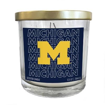 NCAA Michigan Wolverines Echo Team Candle