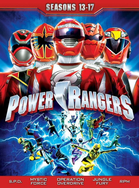 Power rangers:Seasons 13-17 (DVD) - image 1 of 1