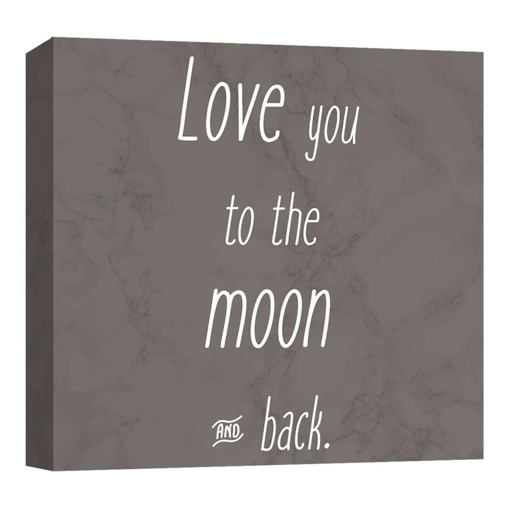 Love You To…. Decorative Canvas Wall Art 16