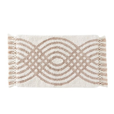 Fringed Waves Rug Natural - SKL Home