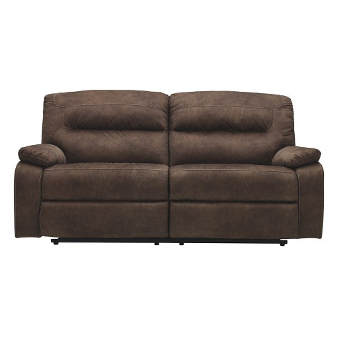 Bolzano Two Seat Reclining Sofa Coffee Brown - Signature Design by Ashley
