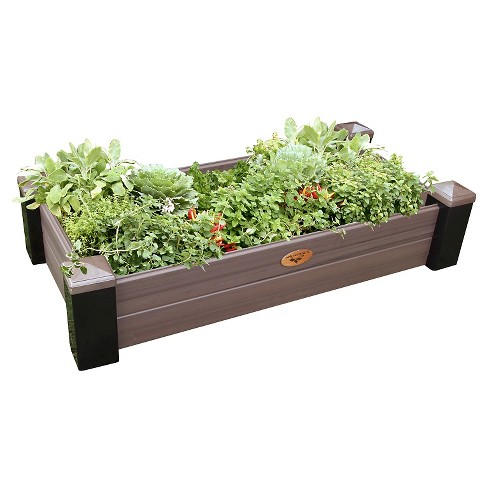 Maintenance Free Raised Rectangle Garden Bed - Gronomics - image 1 of 3