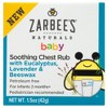 Zarbee's Naturals Baby Chest Rub - 1.5oz - image 2 of 4