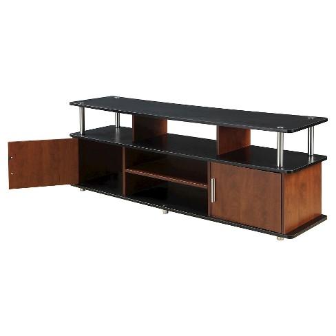 "59"" TV Stand Cherry Black - Johar Furniture - image 1 of 3"