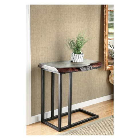 Barnhill Industrial Style Side Table Natural Tone - HOMES: Inside + Out - image 1 of 2