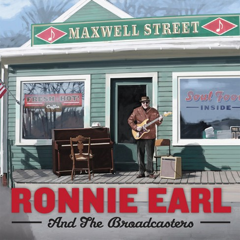 Ronnie and the earl - Maxwell street (CD) - image 1 of 1