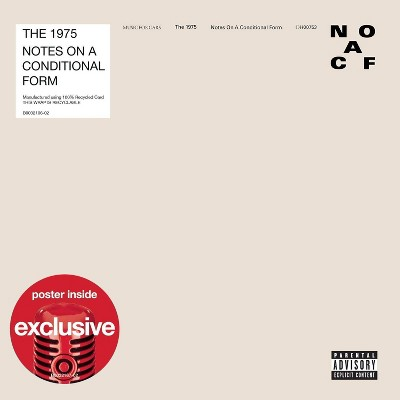 The 1975 - Notes on a Conditional Form (Target Exclusive, CD)