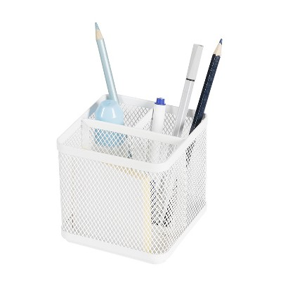 Mesh Pencil Holder White - Made By Design™