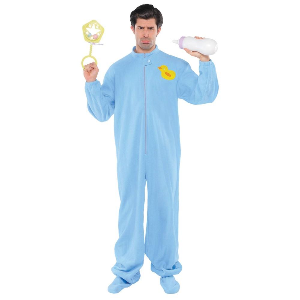 Image of Halloween Adult Big Baby Halloween Costume One Size, Adult Unisex, MultiColored